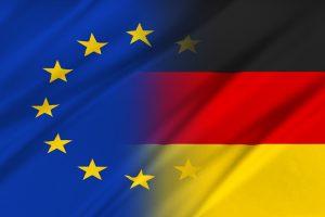 Флаги Германии и Евросоюза - отчет 47 SOHO Financial Advisors