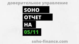 SOHO отчет за 85 торговую неделю